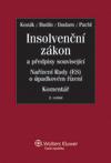 Insolvenční zákon a předpisy související, nařízení Rady (ES) o úpadkovém řízení - Komentář, 2. vydán