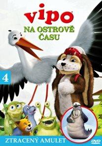 DVD Vipo na Ostrově času 4 - Ztracený amulet