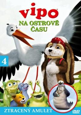 DVD Vipo na Ostrově času 4 - Ztracený amulet - 13x19
