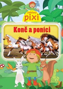 DVD Zvědavý Pixi Koně a poníci