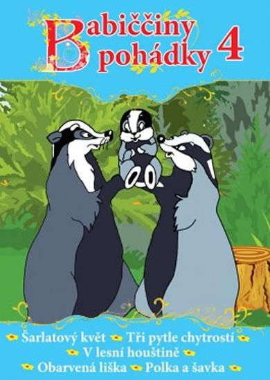 DVD Babiččiny pohádky 4 - neuveden - 13×19