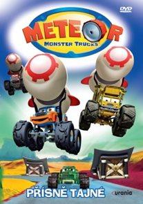 DVD Meteor Monster Trucks 4 Přísně tajné