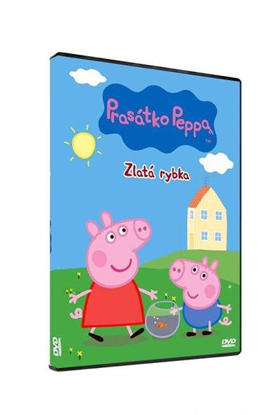 DVD Prasátko Peppa - Zlatá rybka - 13x19