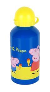 Láhev na pití Prasátko Peppa - Pepina modrá