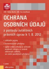 Ochrana osobních údajů k 1.8.2012