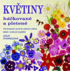 Květiny háčkované a pletené - Stanfieldová Lesley - 23x23