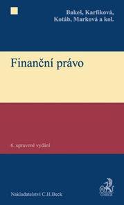Finanční právo, 6. upravené vydání