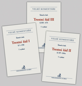 Trestní řád 7. vydání - P. Šámal a kolektiv, Doprava zdarma