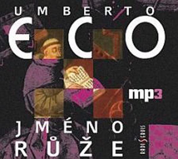 CD Jméno růže - Eco Umberto - 13x14