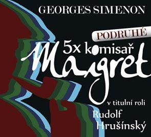 5x komisař Maigret podruhé - 5CD