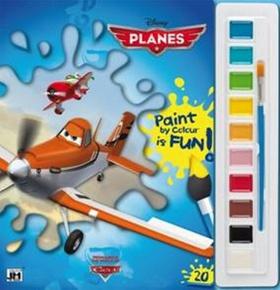 Letadla - Omalovánky s vodovkami A4