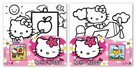 Hello Kitty - Malování na plátno