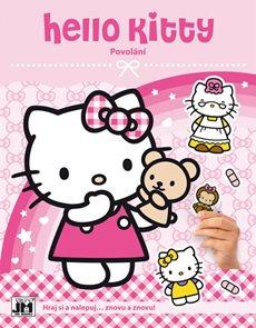 Hello Kitty Povolání - Samolepková knížka