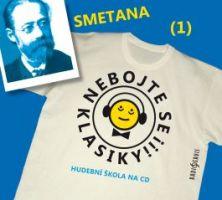 CD Nebojte se klasiky 1 - Bedřich Smetana