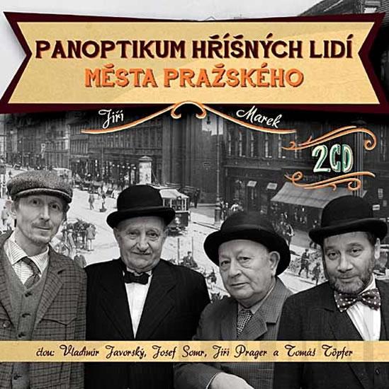 CD Panoptikum hříšných lidí města pražského - Marek Jiří - 13x14