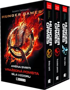 Hunger Games - 3 knihy v dárkovém boxu