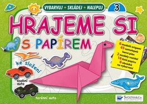 Hrajeme si s papírem 3 (zelená) - Origami a skládačky