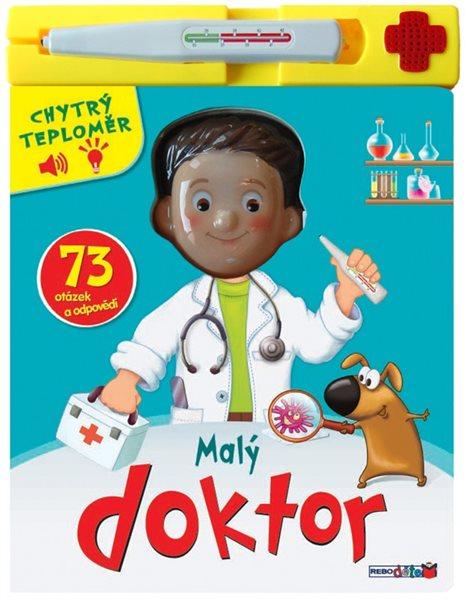 Malý doktor - 73 otázek a odpovědí + chytrý teploměr - neuveden - 22x25