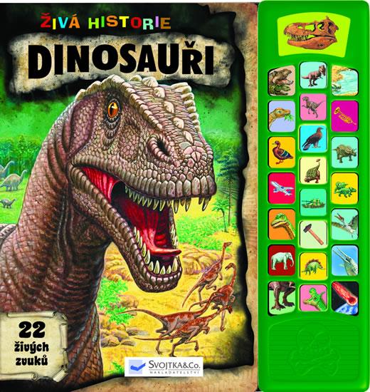 Dinosauři - Zvuková knížka - neuveden