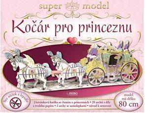 Kočár pro princeznu - super model + knížka