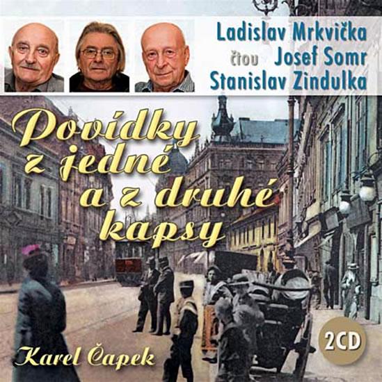 CD Povídky z jedné a z druhé kapsy - Čapek Karel - 13x14