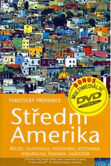 Střední Amerika + DVD - turistický průvodce Rough Guides - 14x21, Sleva 15%