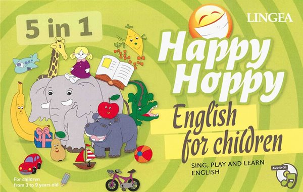 Happy Hoppy English for children - 22x35