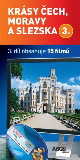 Komplet 15 DVD Krásy Čech, Moravy a Slezska 3 - neuveden