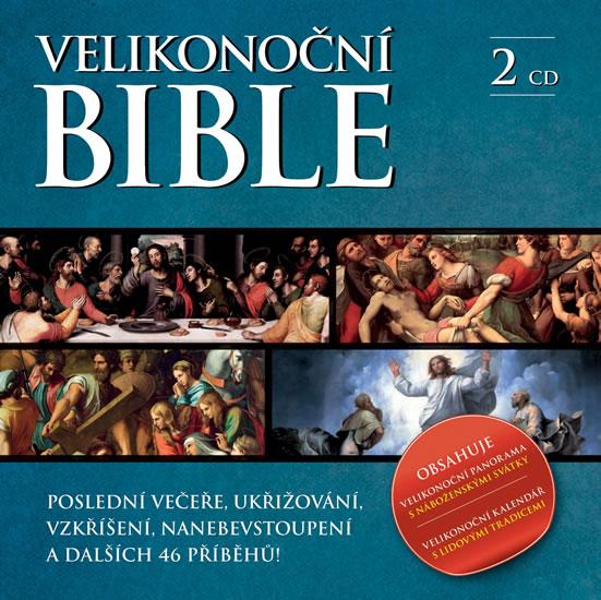 Velikonoční Bible 2 CD - neuveden - 13x14
