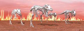 Záložka Úžaska - T-Rex