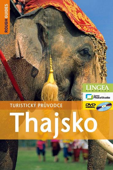 Thajsko - turistický průvodce Rough Guides - 14x21