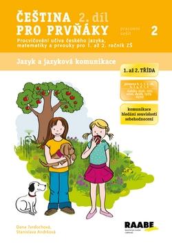 Čeština pro prvňáky 2. díl - pracovní sešit - Tvrďochová Dana, Andršová Stanislava - A4