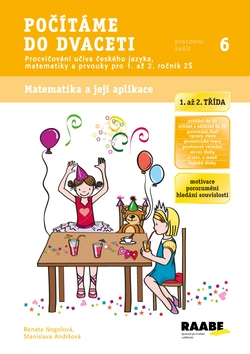 Počítáme do dvaceti - pracovní sešit - Nogolová Renata, Andršová Stanislava - A4