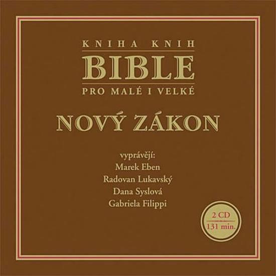 CD Bible pro malé i velké - Nový zákon - neuveden - 13x14