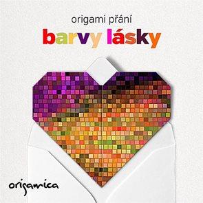 Origami přání - Barvy lásky