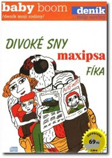 CD Divoké sny maxipsa Fíka - Čechura Rudolf, Šalamoun Jiří - 13x19