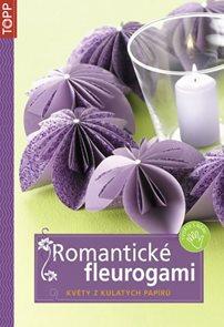 TOPP - Romantické fleurogami - Květy z kulatých papírů
