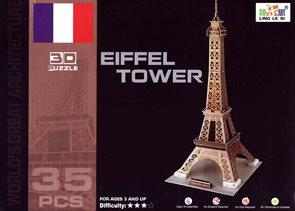 Puzzle 3D - Eifelova věž