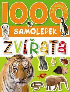 1000 samolepek zvířata
