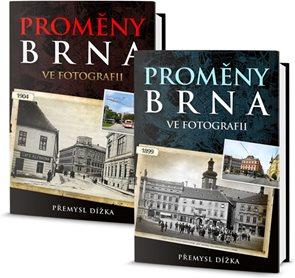 Proměny Brna ve fotografii - komplet 2 knihy (2 díly)