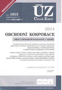 ÚZ 1013 / Obchodní korporace
