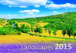 Helma Nástěnný kalendář měsíční 48,5x34 cm - Landscapes