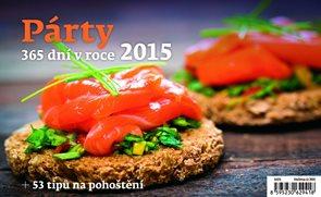 Helma Stolní kalendář týdenní 22,6x13,9 cm - Párty 365 dní v roce 2015