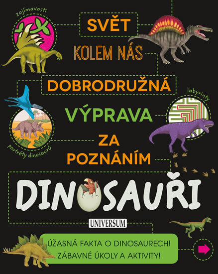 Dobrodružná výprava za poznáním: Dinosauři - neuveden