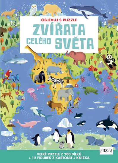Objevuj s puzzle: Zvířata celého světa - neuveden