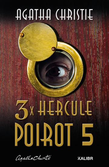 3x Hercule Poirot 5 - Christie Agatha
