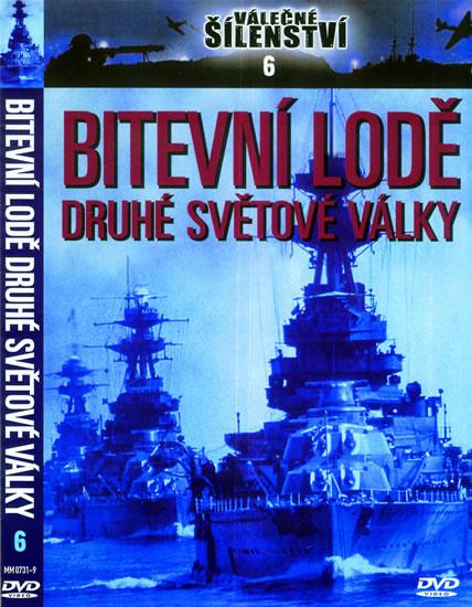 Bitevní lodě 2. světové války - DVD - neuveden