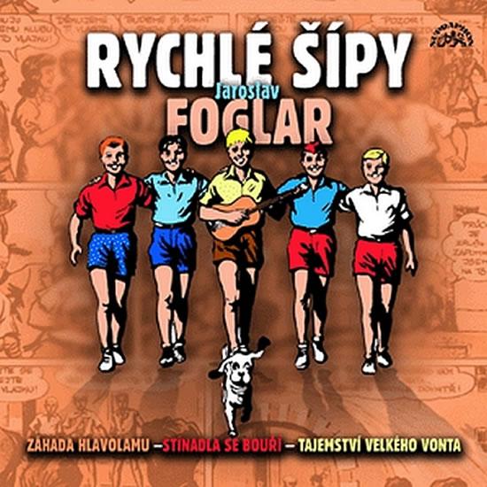 Záhada hlavolamu - CD - Foglar Jaroslav