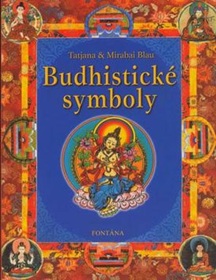 Budhistické symboly - Blau Tatjana