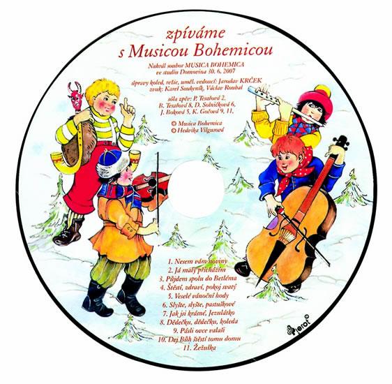 Veselé Vánoce s CD + Vánoční vystřihovánky - Krček Jaroslav, Šulc Petr